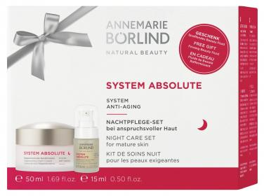 SYSTEM ABSOLUTE Regenerierende Nachtcreme 50ml + Beauty Fluid 15ml