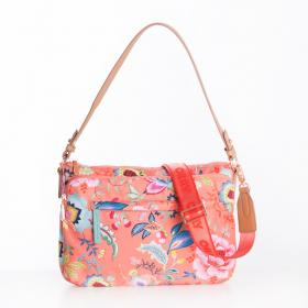 OILILY Flat Shoulder Bag M Camelia