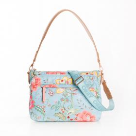 OILILY Flat Shoulder Bag M Turquoise