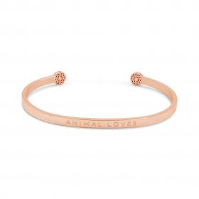 "Armreif ""Animal Lover"" Rosegold"