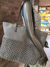 Shopper Netz silver