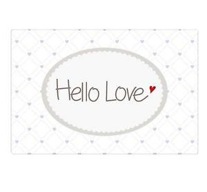 "Mea-Living Magnet "" Hello Love"""